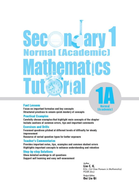 3210561_Sec Maths Tutorial_1ANA_Sample Pages_Page_1