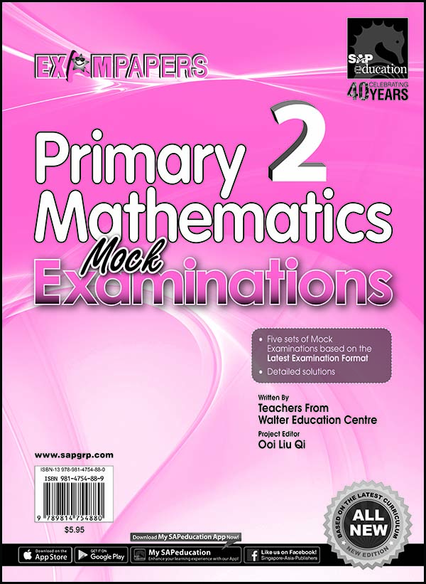 P2 Mathematics Mock Examinations Cover