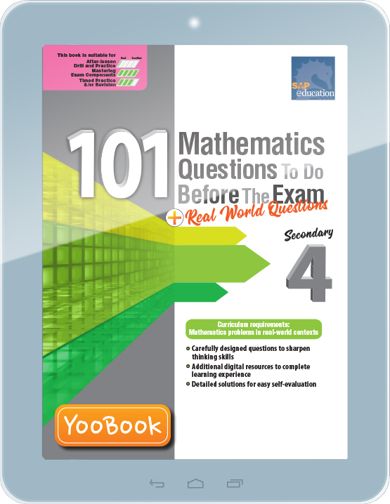 3286085_eCover_101 Math Qns to Do Before the Exam Sec 4
