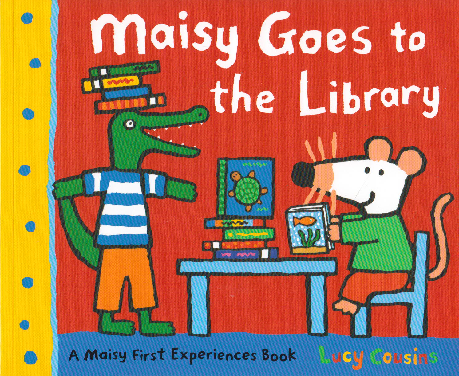 Maisy Goes to the Library – 9781406344585 [C1]