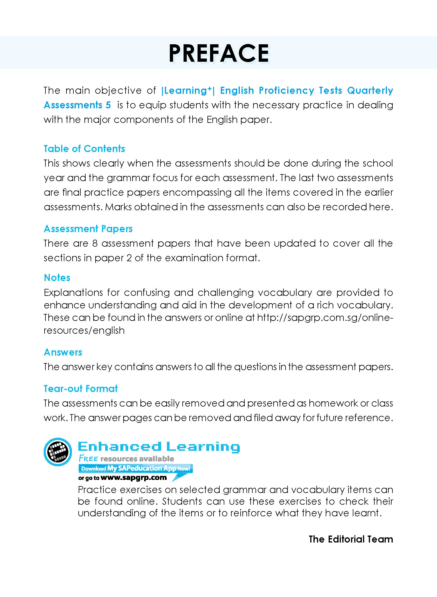 9789813218802_e-Cover_Learning+_Eng Proficiency Tests Quarterly Assessments 5