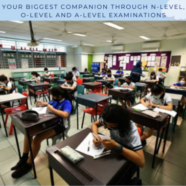 Your biggest companion through N-Level, O-Level and A-Level examinations