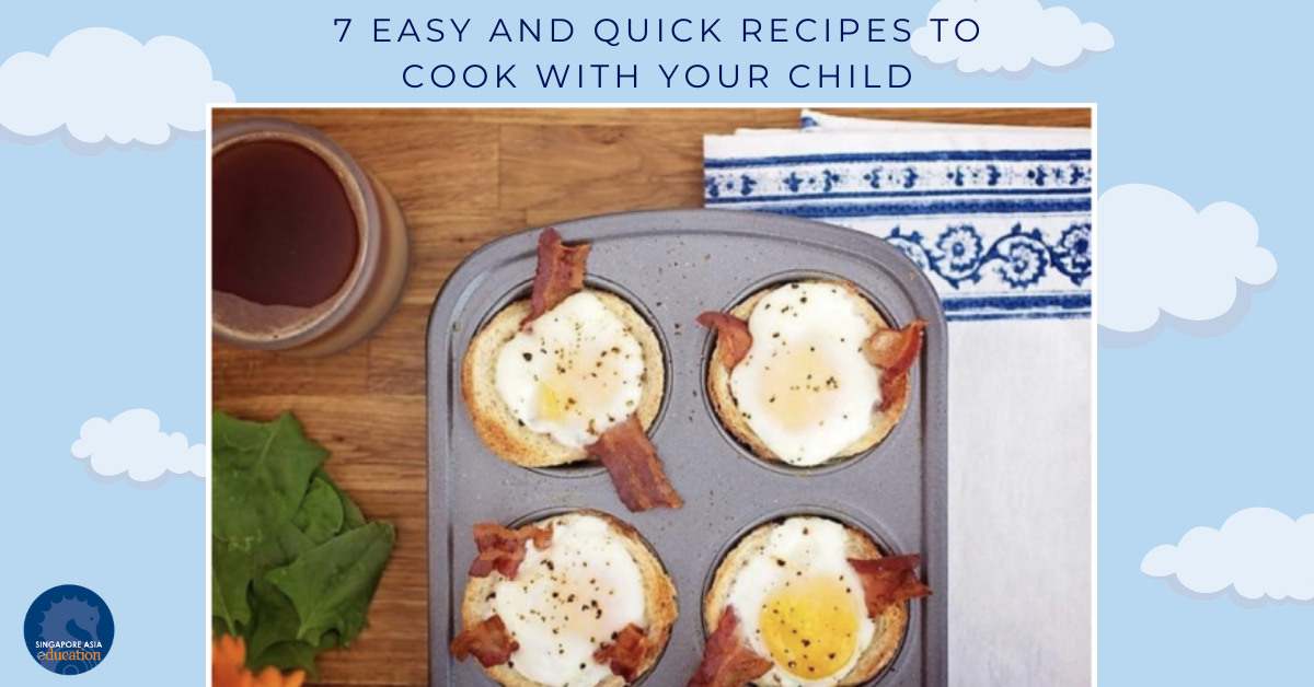 7 Easy and Quick Recipes to Cook With Your Child