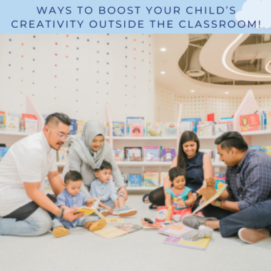 Ways to boost your child's creativity outside the classroom!