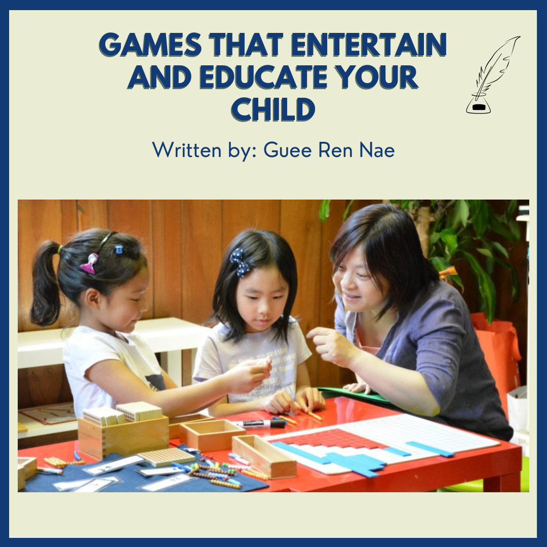 Games that Entertain and Educate Your Child