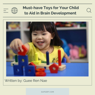 Must-have Toys for Your Child to Aid in Brain Development