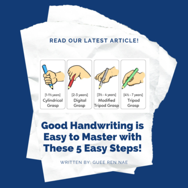 Good Handwriting is Easy to Master with These 5 Easy Steps!