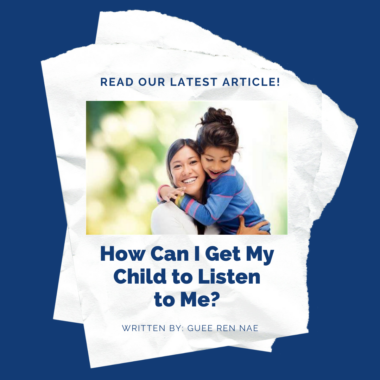 How Can I Get My Child to Listen to Me?