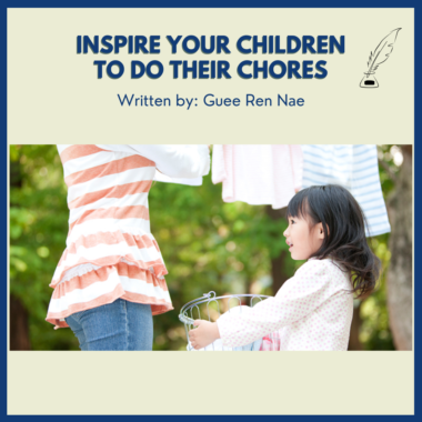 Inspire Your Children to Do Their Chores