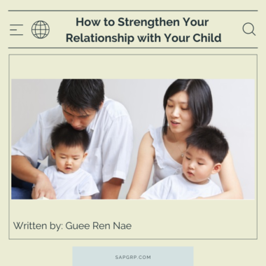 How to Strengthen Your Relationship with Your Child
